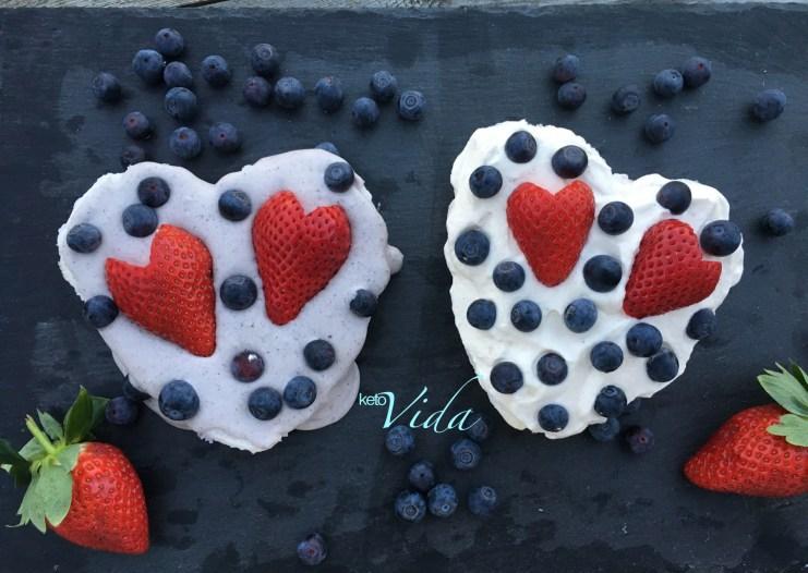 Be my Valentine: Australian Pavlova