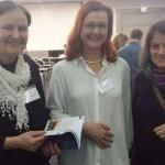 v.l.: Prof. Dr. Ulrike Kämmerer, Daniela Pfeifer (Mitte), ich (rechts)