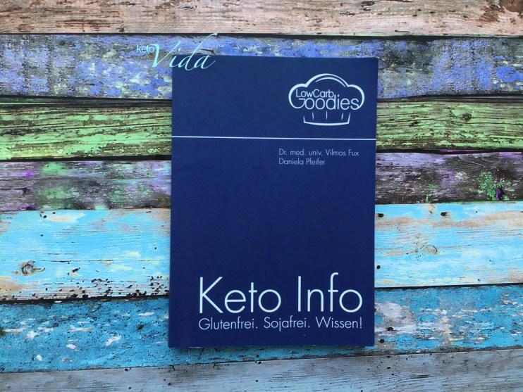 Bücherbummel Keto Info. Glutenfrei. Sojafrei. Wissen!