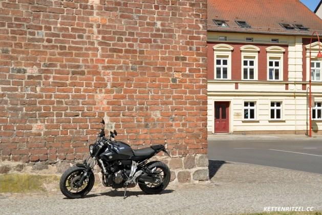 In der Altstadt von Angermünde