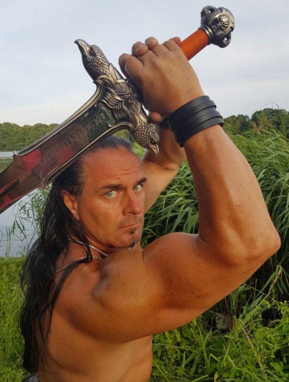 Kettensprenger Conan Schwert