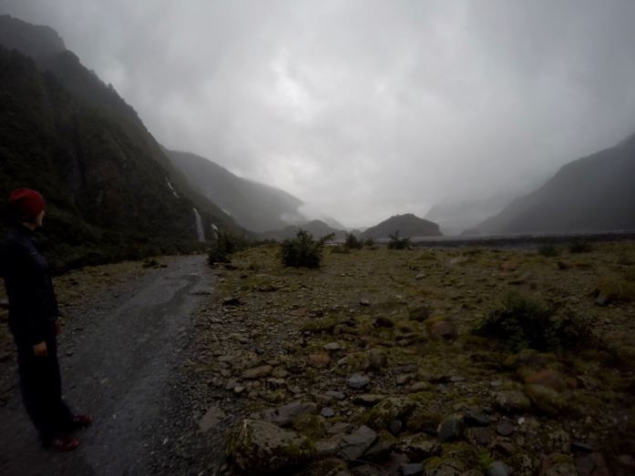 Approaching doom, hiking to Franz Josef Glacier. Photo credit The Avião Experience.