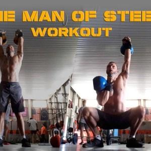 Best Kettlebell Strength Workout!—The Man of Steel Workout