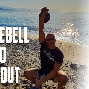 Quick Kettlebell Cardio Workout - 12 MIN. WORKOUT 1 KB