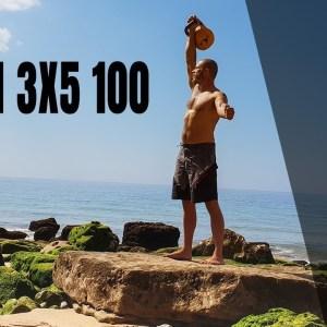 Raven 3x5 100—A tough kettlebell workout