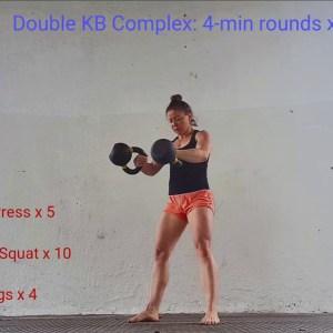 20-minute Advanced Kettlebell Workout