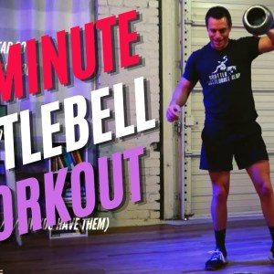 20-Minute Full Body Strength & Cardio Kettlebell Workout