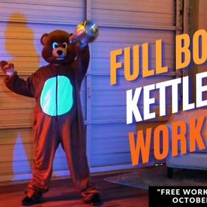 25 Minute Beary Awesome Halloween Kettlebell Workout
