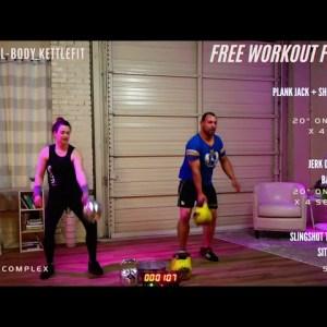 30-Minute Killer Kettlebell Training Workout