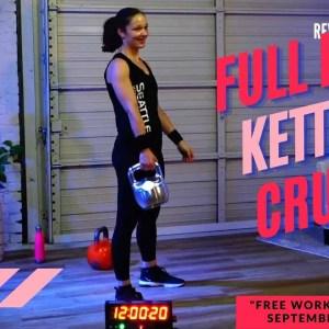 35-Minute Kettlebell Workout Full Body Crusher