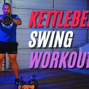 40-Minute Kettlebell Swing Workout