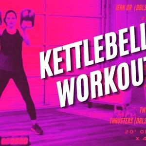 40-Minute Kettlebell Tabata Workout