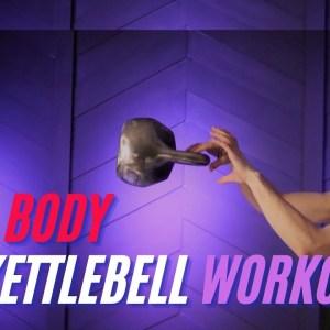 45 Minute Full Body Kettlebell WORKOUT