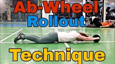 Ab Wheel Rollout - Technique