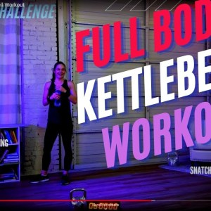 Challenging Full Body Pro Kettlebell Workout