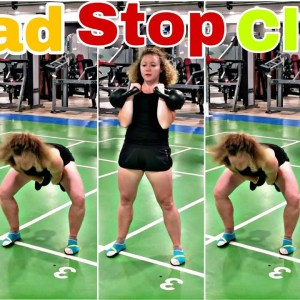 Dead Stop Kettlebell Clean - Technique & Variations
