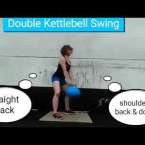 Double Kettlebell Swing [technique]
