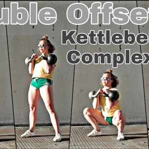 Double Offset Kettlebell Workout | 12 minutes