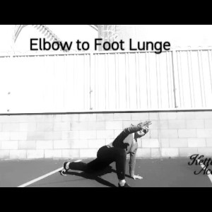 Elbow to Foot Lunge - Universal Warm Up Exercises