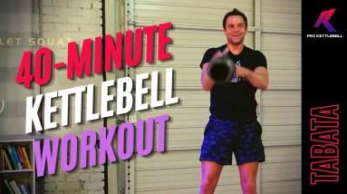 Follow-Along Kettlebell Tabata Workout