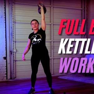 Hot Full Body Kettlebell FIT Workout