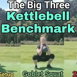 Kettlebell 'Big Three' Benchmark | follow-along