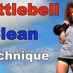 Kettlebell Clean Technique [Single/Double]