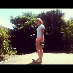 Kettlebell Single Leg Deadlift - Technique Demo