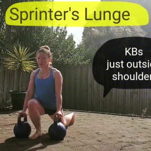 Kettlebell Sprinter's Lunge | Hip Mobility and Power