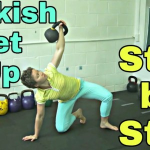Kettlebell Turkish Get Up - Step By Step