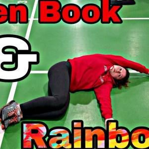 Open Book & Rainbow