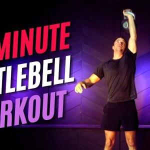 Pro Kettlebell Full Body Circuit Workout