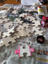 re-purposing a jigsaw puzzle