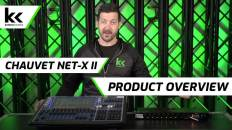 Chauvet NetX-II and Chamsys MQ80 | Product Overview