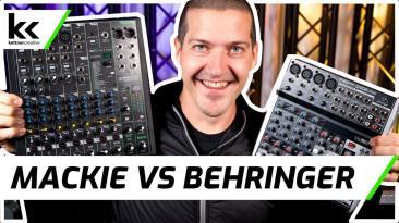Mackie ProFX10v3 vs Behringer Xenyx Q1202 USB