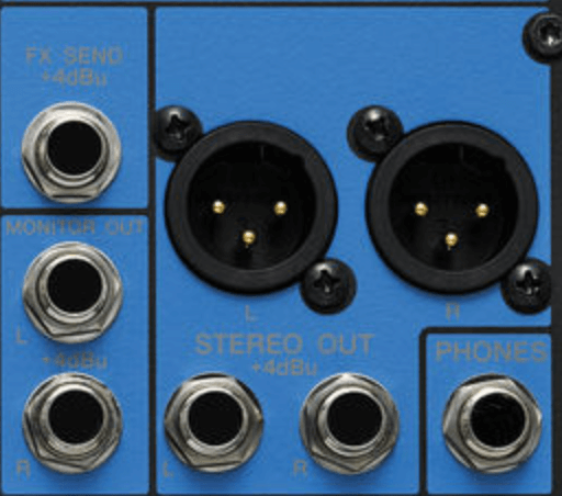 Yamaha MG10XU Mixer Outputs