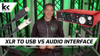 XLR To USB Cable VS Audio Interface