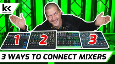 3 Ways To Connect Multiple Audio Mixers Together