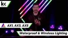 Astera AX1, AX3 & AX5 Wireless & Waterproof Lighting