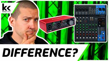 Audio Interface VS Mixer