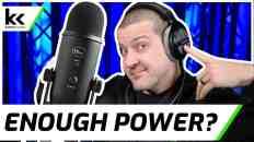 Blue Yeti and 250 Ohm Headphones