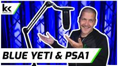 Blue Yeti + Rode PSA1 Boom Arm | In Depth Review
