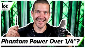 Does Phantom Power Work on 1/4″ Cable?
