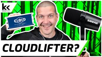 Does The Shure MV7 Need A Cloudlifter?