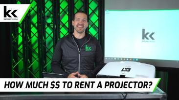 How Much Does It Cost To Rent A Projector