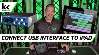 How To Connect USB Audio Interface to iPad
