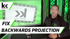 How To Fix Backwards Projection | Any Projector