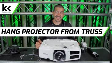 How To Hang A Projector From Truss