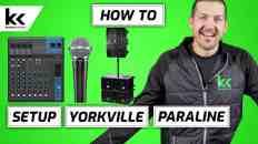 How To Setup Yorkville Paraline PSA1 & PSA2s Sound System