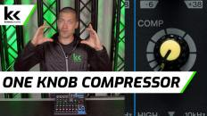How To Use A One Knob Compressor